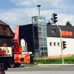 Feuerwehrhaus Glasturm